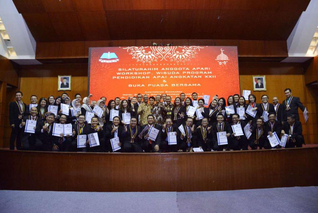 Silaturahim Anggota APARI, Workshop, Wisuda Program Pendidikan APAI Angkatan XXII dan Buka Puasa Bersama
